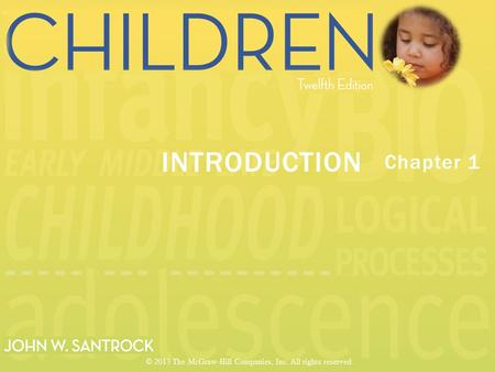 Chapter 1 INTRODUCTION © 2013 The McGraw-Hill Companies, Inc. All rights reserved.