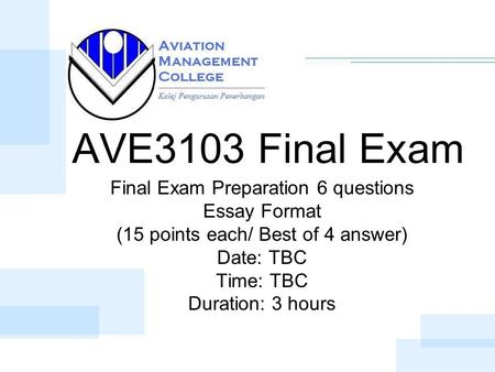 final exam prep questions Final exam prep start at the bottom  for example, if the exam you are about to try is out of 100 marks (check,  you will need to pick and choose questions.