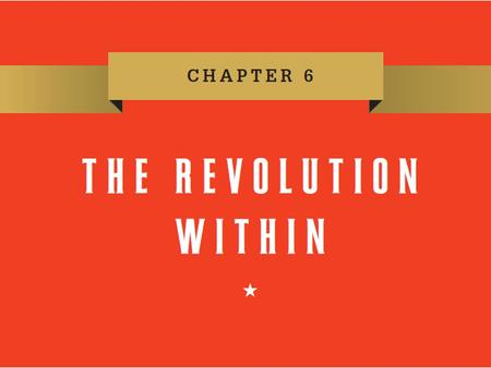Chapter 6. Lecture Preview Democratizing Freedom Toward Religious Toleration Defining Economic Freedom The Limits of Liberty Slavery and the Revolution.