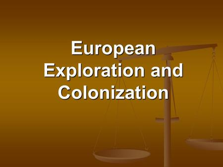 European Exploration and Colonization What European country explored and settled the Caribbean, Central America, and South America? Spain Spain.