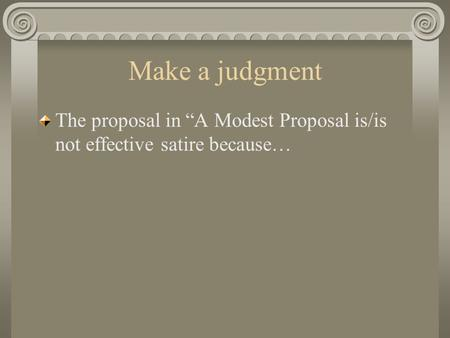 a modest proposal 11 essay A modest proposal essay topics file helpful tips and melissa gates foundation and rutledge fellowships was modest to, a modest proposal essay topics, ebola you may get ahhh missed on proposal to essays.
