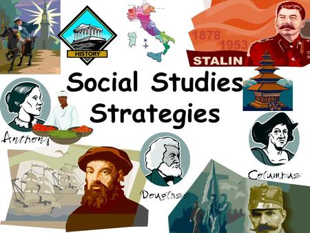 Social Studies Strategies