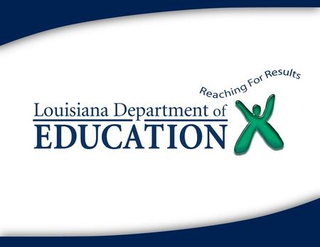 Louisiana department of education homework help
