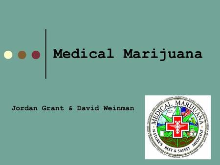 Medical Marijuana Jordan Grant & David Weinman. Wickard V. Filburn Filburn was a farmer who grew excess wheat for private consumption but was taken to.