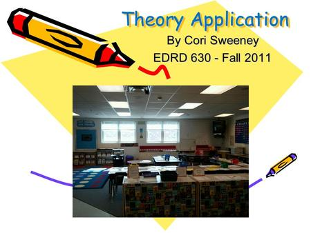 Theory Application By Cori Sweeney EDRD 630 - Fall 2011.