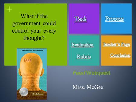 + Feed Webquest Miss. McGee What if the government could control your every thought?