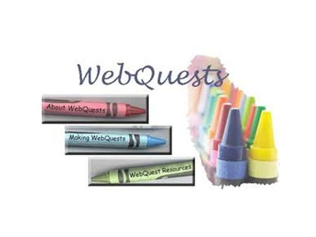 Creating WebQuests is as simple as creating a document with hyperlinks! Webquests can be created in Word, Powerpoint, and even Excel! The critical attributes.