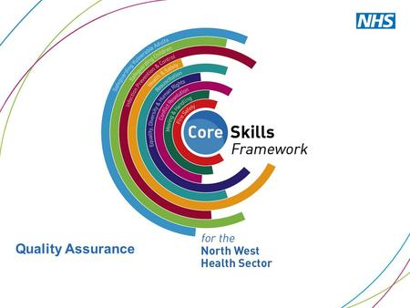 Quality Assurance. Identified Benefits that the Core Skills Programme is expected to Deliver 1.Increased efficiency in the delivery of Core Skills Training.
