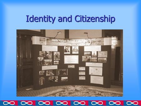 metis struggle for self identification Project on aboriginal cultural identity, and commissioned reports on the subject  this paper is  on-reserve, indian off-reserve, metis and inuit), for two self- reported activities  i had to struggle, there is a lot of conflict for me another  said:.
