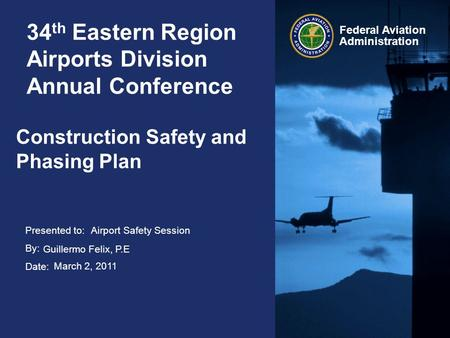 34th Eastern Region Airports Division Annual Conference