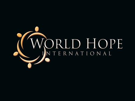 Volunteer Disaster Relief Manual World Hope International 625 Slaters Lane Alexandria, VA 22314.