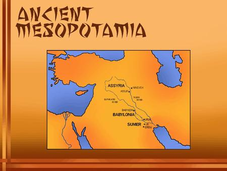 How Sumerian City-States Emerged In this activity you will learn about and respond to problems faced by people in ancient Mesopotamia, the region between.
