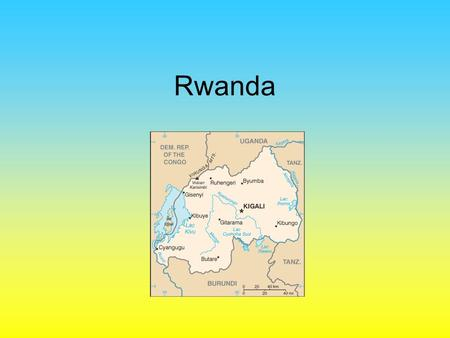 Rwanda. History Called Ruanda-Urundi Ethnic make up –85% Hutu –14% Tutsi –1% Twa Lived in peace under a Tutsi King Intermarriages were common Spoke the.