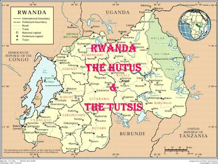 RWANDA THE HUTUS & THE TUTSIS. History of Violence Belgian colonists arrived in 1916 and saw two distinct groups Belgian colonists arrived in 1916 and.