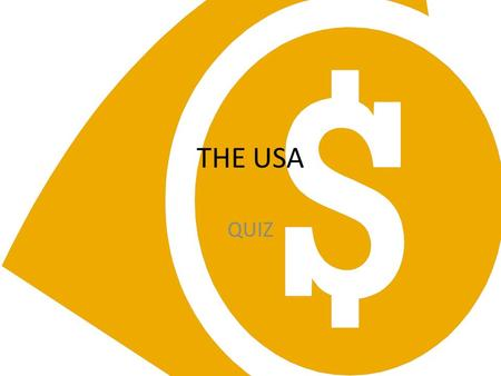 THE USA QUIZ.