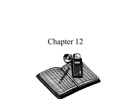 Chapter 12. Cost Concepts for Decision Making A relevant cost is a cost that differs between alternatives. 1 2.