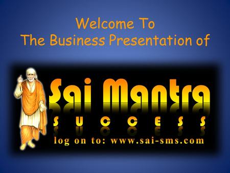 Welcome To The Business Presentation of