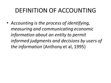 Igcse accounting study notes