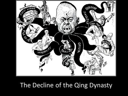 Overall, what weaknesses led to the collapse of the Qing dynasty?