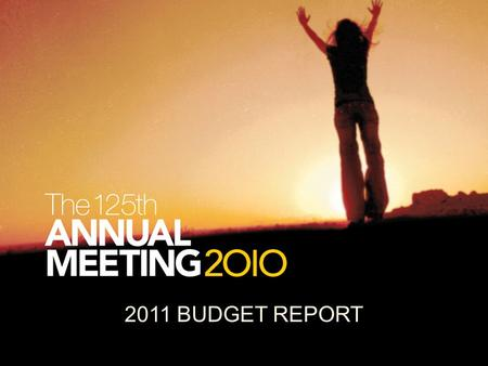 2011 BUDGET REPORT. Base Budget PCP CWR PMs STMs KB FOWM CO SPE Covenant World Relief Paul Carlson Partnership Project Missionaries Short-term Missionaries.