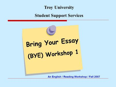 support essays Is the essay written in the writer's own voice so that the language is comfortable, clear and interesting to both the writer and the audience format in research essays, is the information documented as needed.