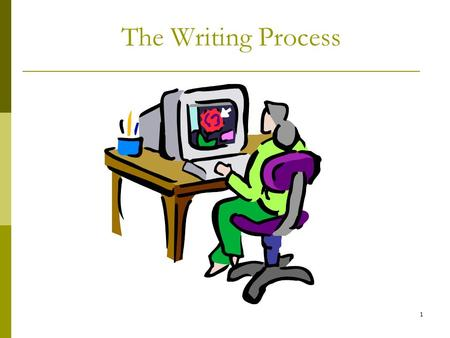 "1 The Writing Process. 2 Quote from Joseph Pulitzer on Technical Writing ""Put it before them briefly so they will read it, clearly so they will appreciate."