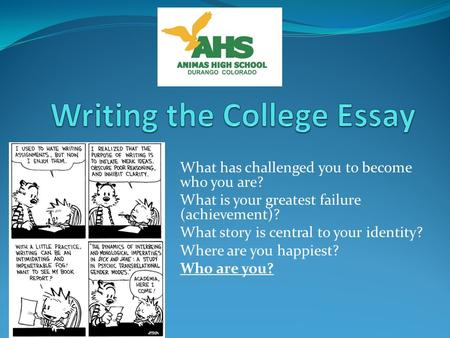 college purpose essay