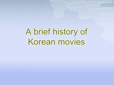  The most striking aspect of modern Korean history is the amount of turmoil that the country has endured. In this time, the people of Korea have seen.