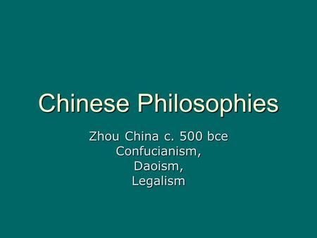 confucianism and legalism similarities Legalism is a popular—albeit quite inaccurate—designation of an intellectual   1985), and this comparison grasps well some of its characteristics  of the  followers of confucius 孔子 (551–479 bce) and mozi 墨子 (ca.