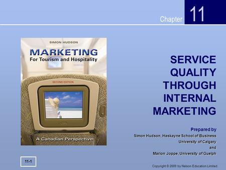 SERVICE QUALITY THROUGH INTERNAL MARKETING