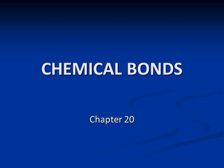 CHEMICAL BONDS Chapter 20. BONDING - journal 1. Draw the BOHR ATOM & Lewis Dots for Hydrogen, Carbon, Chlorine, and Neon 2. How many valence electrons.