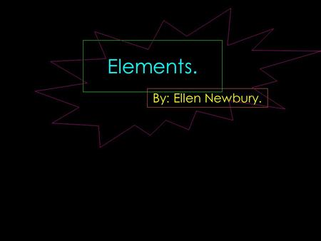 Elements. By: Ellen Newbury.. Atomic Number: 21 Atomic Symbol: Sc Atomic Weight: 44.9559 Electron Configuration:[Ar]4s23d1 Atomic Radius: 160.6 pm Melting.