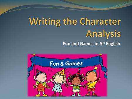 character analysis essay the things they carried A look at the things they carried english literature essay the things they carried in the novel and they are either an insight on a character or event or.