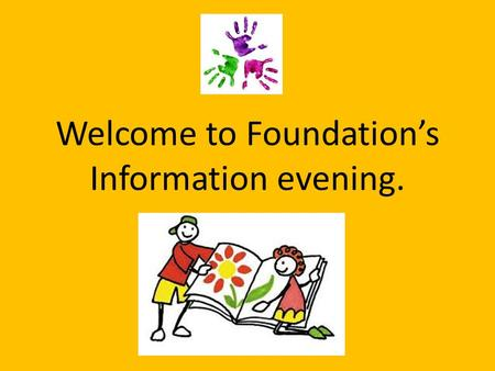 Welcome to Foundation's Information evening.. Who's who? From time to time we will also have students working in Foundation.