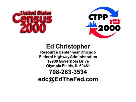 Ed Christopher Resource Center near Chicago Federal Highway Administration 19900 Governors Drive Olympia Fields, IL 60461