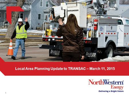 1 Local Area Planning Update to TRANSAC – March 11, 2015.