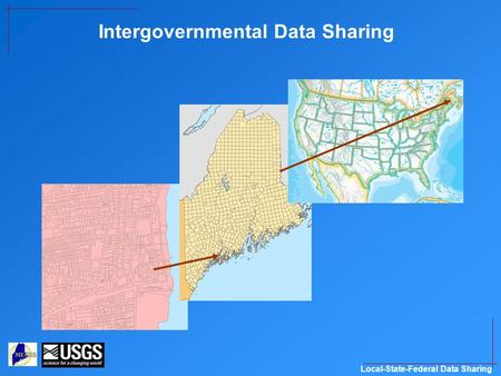 Local-State-Federal Data Sharing Intergovernmental Data Sharing.