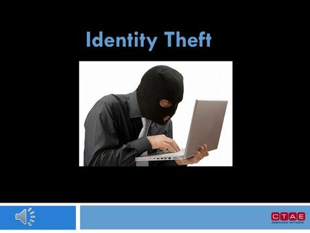 Identity Theft What is Identity Theft?  Identity theft is a serious crime. Identity theft happens when someone uses information about you without your.