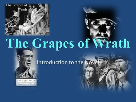 rhetorical analysis of the grapes of Gow rhetorical analysis chapter 19 of the book the grapes of wrath presents historical background on the development of land ownership in california.
