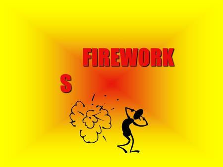 "FIREWORK S HISTORY Writings from 850 AD show that the Chinese used black powder to create ""fireworks"". People learned to encase black powder, making."