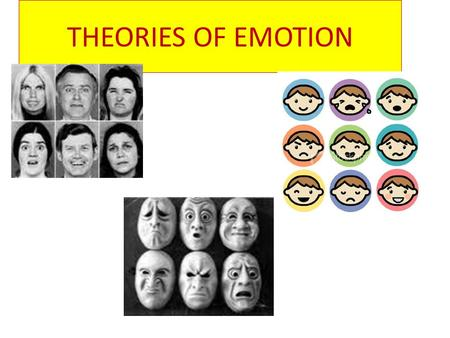 THEORIES OF EMOTION. EMOTION is a set of complex reactions to stimuli involving subjective feelings, physiological arousal, and observable behavior.