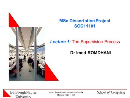 Msc dissertations uk