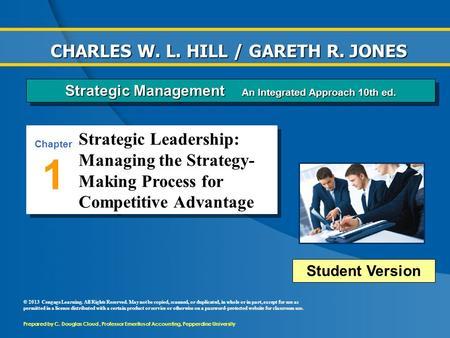strategic management coursework 1