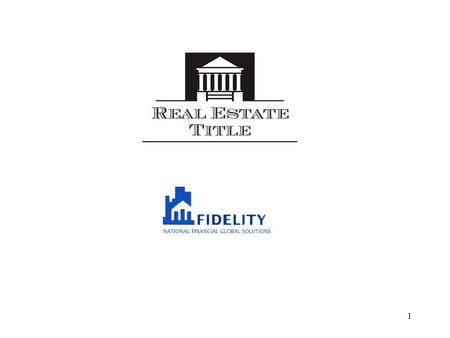 1. 2 1. Who is Real Estate Title? We represent REAL ESTATE TITLE. RET is a Mexican company based in Hermosillo, Sonora, Mexico, primarily Providing title.