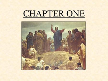"CHAPTER ONE. The Church is the Body of Christ ""The Word became flesh, and made his dwelling place among us"" (John 1:14) The Church is one body –Our union."