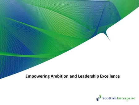 Empowering Ambition and Leadership Excellence. Leadership Campaign.