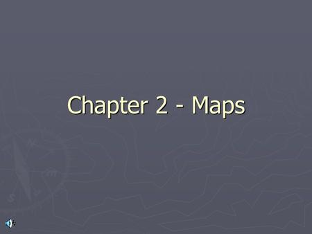 Chapter 2 - Maps. Latitude ► The earth is divided by east-west running lines of latitude. The zero degree line of latitude is the _________. There are.