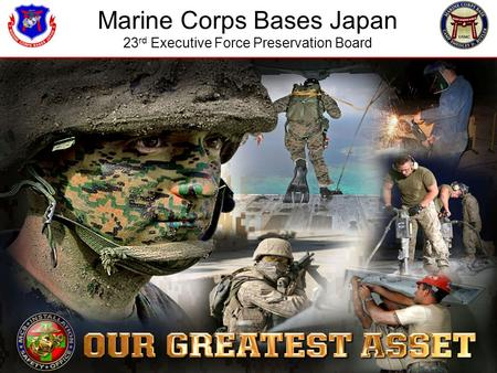 Marine Corps Bases Japan 23 rd Executive Force Preservation Board.