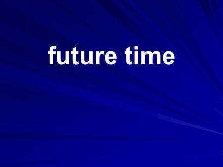 Future time. present continuous future Use for a fixed arrangement in the future e.g. an event already written in a diary. I'm coming back next Thursday.