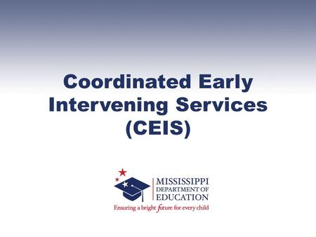 Coordinated Early Intervening Services (CEIS). 34 CFR §300.226: An LEA may not use more than 15 percent of the amount the LEA receives under Part B of.